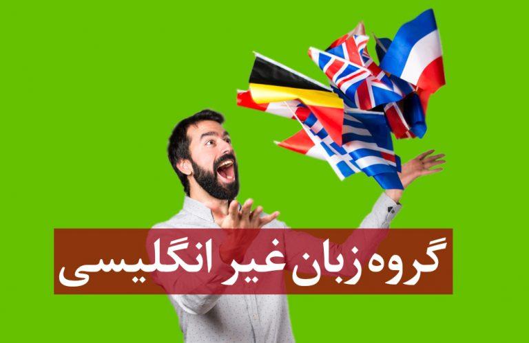 گروه زبان غیر انگلیسی