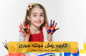 دوره کاربرد روش مونته سوری در آموزش کودکان پیش دبستانی